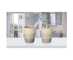 Kit di oggetti per il bagno Wenko: Distributore e bicchiere Cuzco
