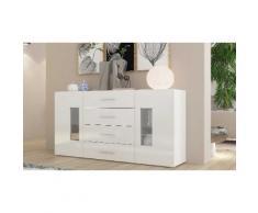 Credenza Daiquiri : Larghezza 160 cm / Bianco lucido - 569934