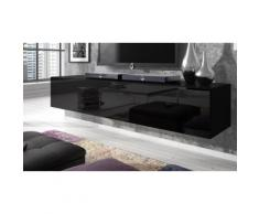 Mobile TV Rocco - Modello grande 160 x 40 x 34 cm - Nero