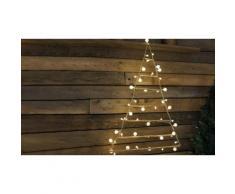 Albero di Natale a piramide con 48 luci a LED Konstsmide