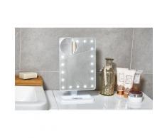 Specchio a LED per make-up: Bianco