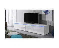 Mobile TV Luv doppio - Bianco/Bianco lucido