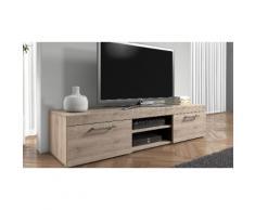 Set mobile porta TV e credenza Mambo - Sonoma / Rovere
