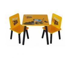 Mobili per bambini Joey JCB - Tavolo e 2 sedie