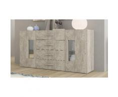 Credenza Daiquiri: 160 x 40,6 x 79,5 cm / Cemento