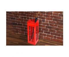 Portaombrelli di design a forma della cabina telefonica londinese