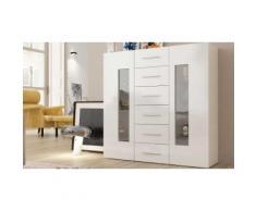 Credenza Daiquiri : Altezza 120 cm / Bianco lucido - 457752