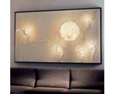 ines artdesign Quadro luce Lunar dance 2 - Cornice nera
