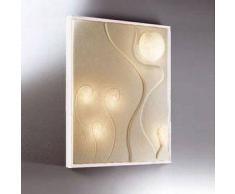 ines artdesign Quadro luce Lunar dance 3 - Cornice bianca